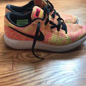 Multi color Nike running sneakers